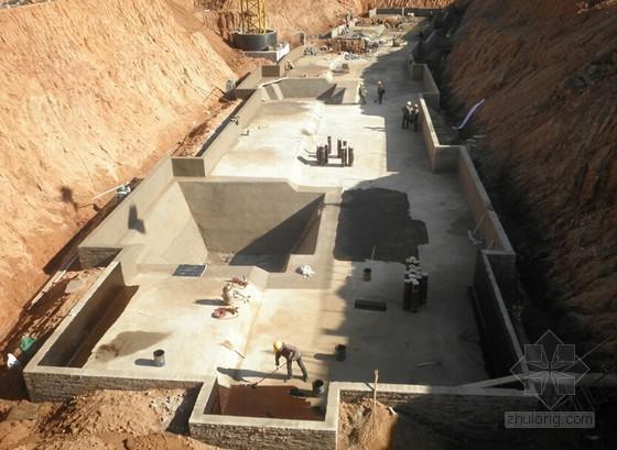 基础底板集水坑自动排水施工工法