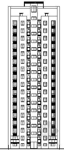 某十六层高层住宅楼建筑设计方案