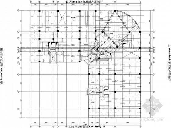 L型17层框剪住宅结构施工图(筏板基础,6度设防)