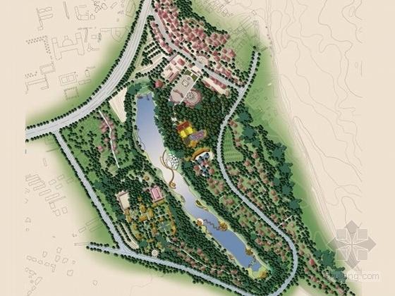 [云南]风情旅游公园景观规划概念方案