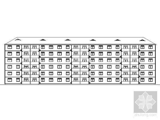 [课程设计]某六层住宅楼建筑设计方案