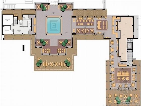 [杭州]江南庭院式典雅五星级酒店设计方案