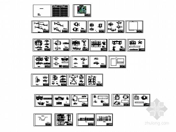 土地整治项目结构设计施工图(农田水利 生产道)