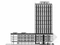 [上海]某二十四层商务大厦建筑施工图