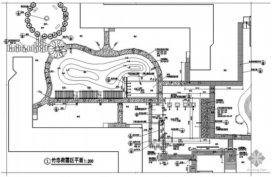 杭州度假酒店景观设计施工图