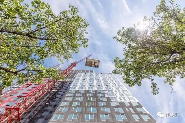 在纽约,有一幢比特朗普大厦还牛逼的公寓楼,90%工厂制造……_23