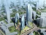 [四川]超高层曲线形造型城市综合体建筑设计方案文本