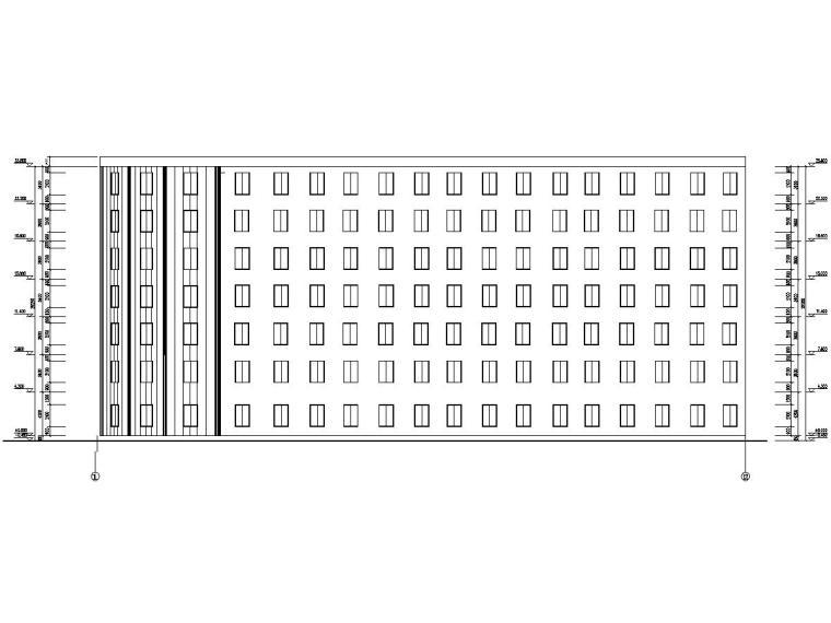 [学士]七层框架结构旅馆毕业设计(含建筑结构图,计算书)
