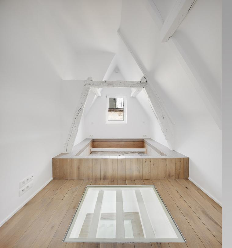 比利时一室小型酒店建筑内部实景图 (8)