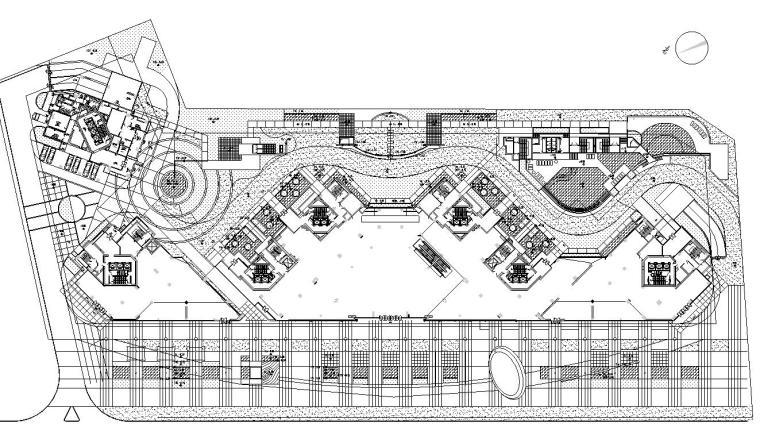 [广东]深圳市聽濤花園居住区景观施工图设计(CAD+40个文件)