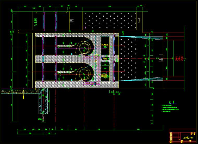 河床式电站主厂房工程施工图