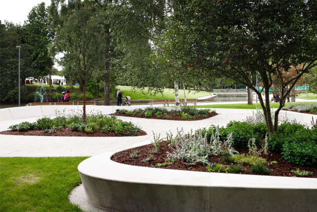 3-英国斯蒂夫尼奇镇中心花园kok第3张图片