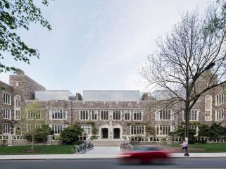 哥特式学术建筑普林斯顿大学校园