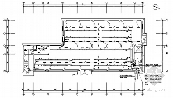某六层服装厂厂房电气图纸