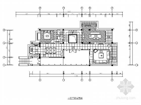 [福建]380平简约现代风格两层别墅施工图(含高清实景图)