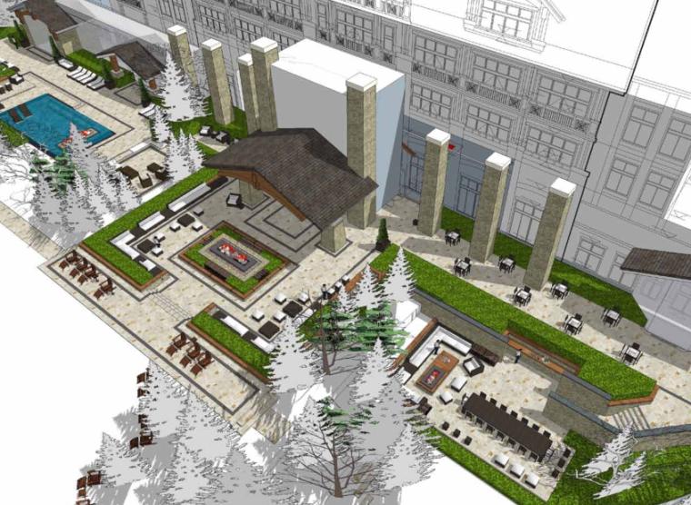 [吉林]长白山南区凯悦柏悦酒店景观设计-AECOM