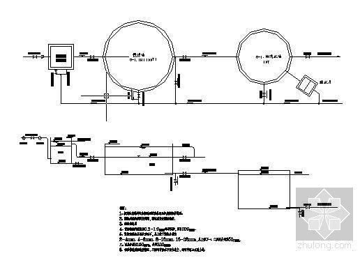 200T农村人畜饮水工程设计图