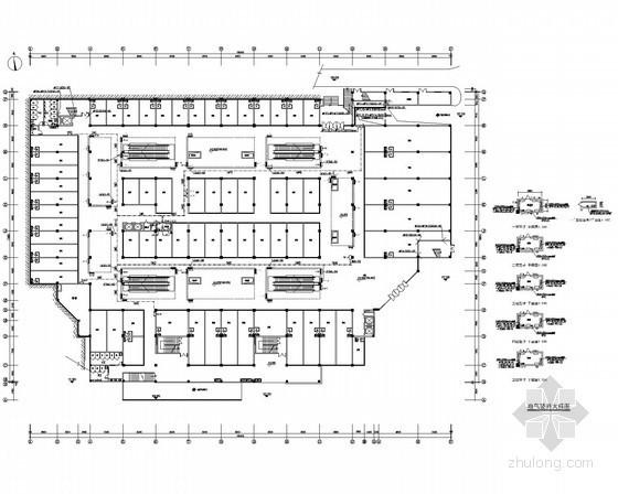 [江西]多层商业建筑电气施工图47张