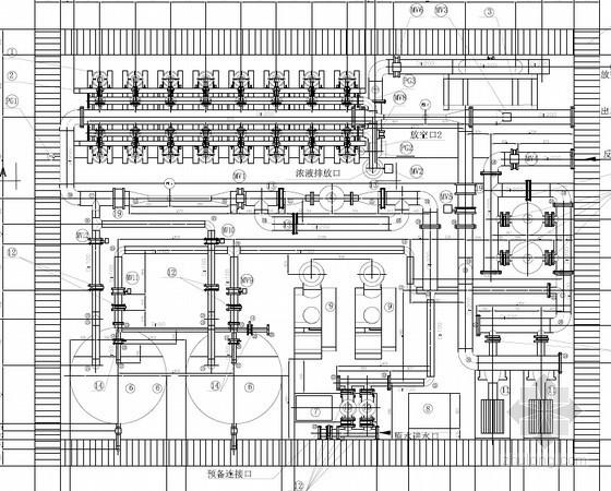 [北京]连续膜过滤系统设计图