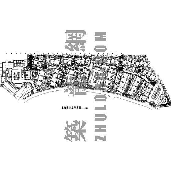 园林景观工程施工图(成都万科城市花园)八