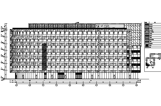 [北京]知名网络公司办公总部建筑施工图(修改图纸)_1
