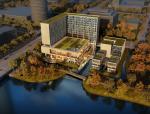 [浙江]高层中式风格酒店娱乐综合体建筑方案文本