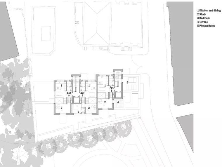 建筑师独立开发的公寓楼,真是好房子!_41