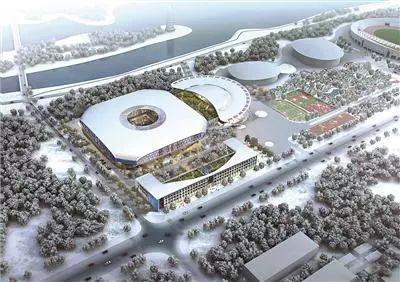 """北京冬奥""""月牙""""馆预计明年竣工 总用钢量1.4万吨"""