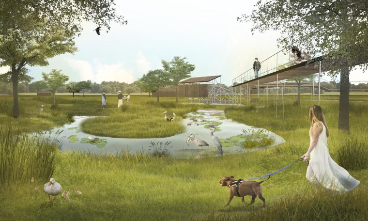 越南生态旅游小镇景观