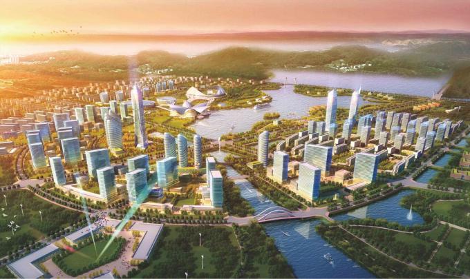 [上海]滨水海湾新区概念性规划设计