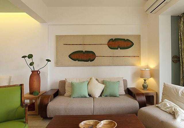 太美了!茶几、沙发、背景墙,一个都不能少!