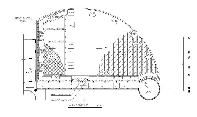 21套屋顶花园CAD施工图(14)