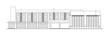 【四川】四层框架剪力墙结构指挥中心建筑施工图(含全专业建筑图纸)