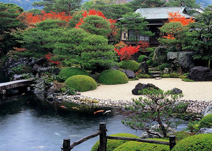 日式禅意花园景观设计欣赏