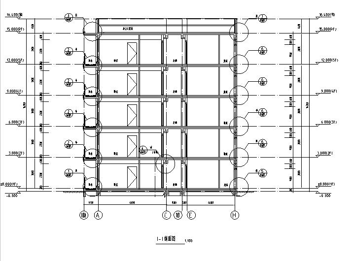 [吉林]多层框架剪力墙结构度假区住宅建筑施工图_2