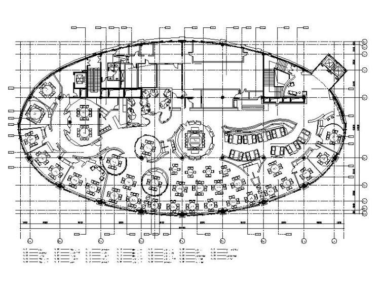 [上海]新中式高级奢华食府室内设计施工图(含实景图)