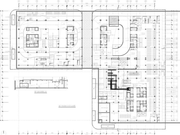 [广东]知名电商总部大厦智能化系统电气施工图(含变配电室、火灾自动报警系统)最新设计
