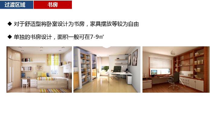 高层住宅楼户型房间功能设计研究(图文并茂)-书房