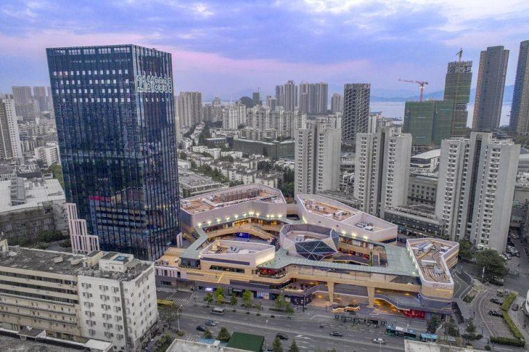 [建筑案例]深圳港汇商业中心