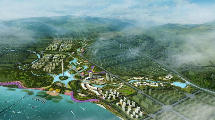 [四川]德国知名设计公司生态滨湖湿地公园景观规划设计方案_2