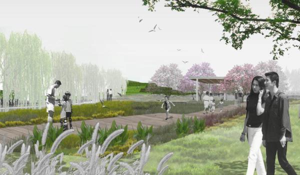 [重庆]生态示范性混合式滨水绿地公园景观规划设计方案