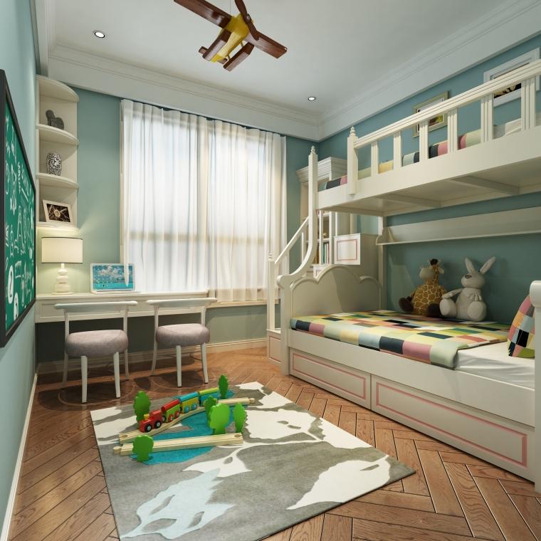 儿童房 (2)-大邑城市绿洲样板房第1张图片
