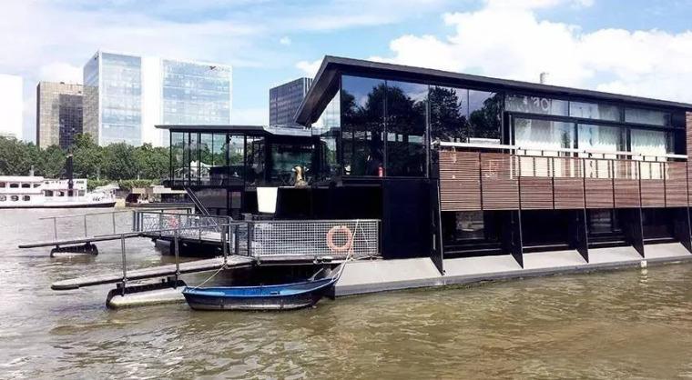 法国Off Paris Seine漂浮酒店