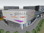 大型商业综合体建筑SU模型