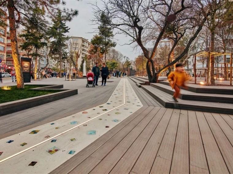 土耳其Hamamyolu城市走廊景观