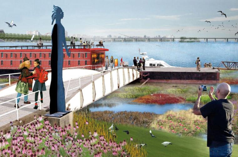 [上海]徐汇滨江绿带景观设计国际竞赛方案