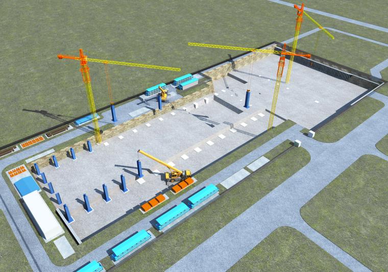 改扩建工程施工组织设计(钢骨混凝土排架结构,近300页)_4