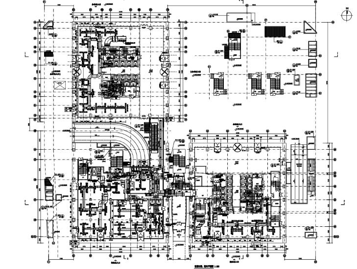 北京亚运村商业综合体暖通最终版施工图