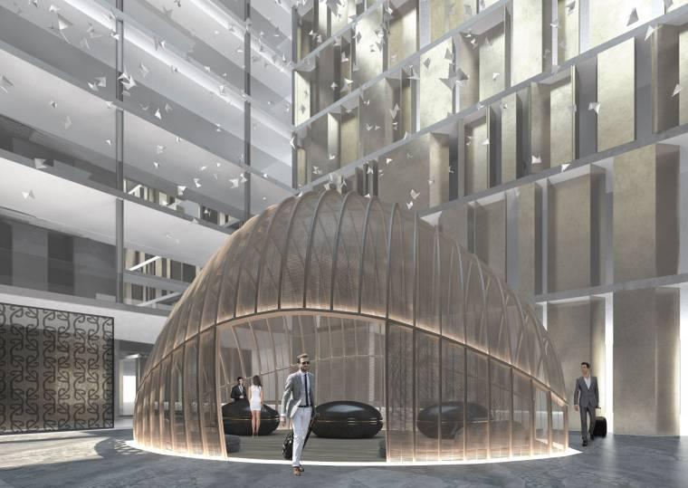 奥克兰凯悦酒店丨效果图+100%设计方案丨PDF+JPG丨