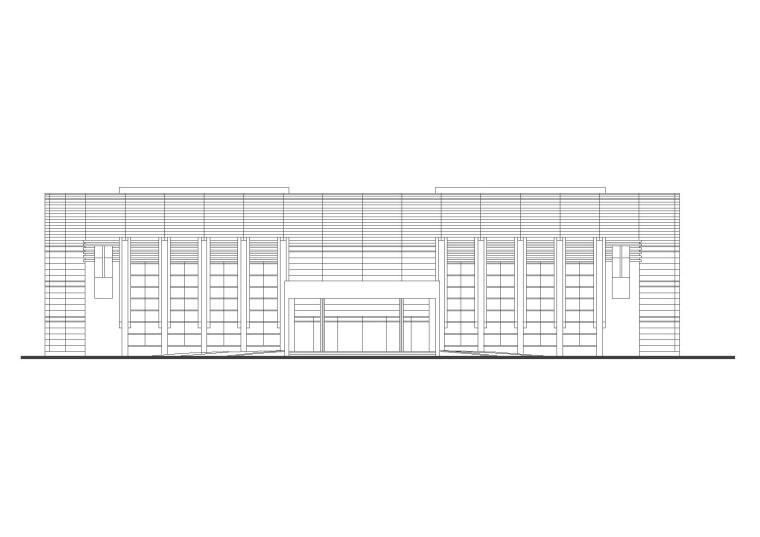 平面厂房规划规划文本资料下载-[安徽]现代风格新厂区企业办公楼地块规划
